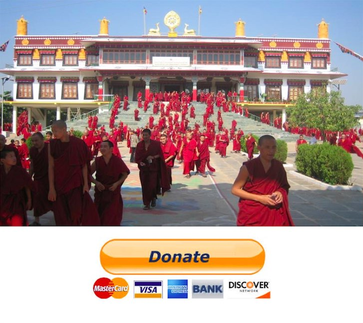 support the monastery
