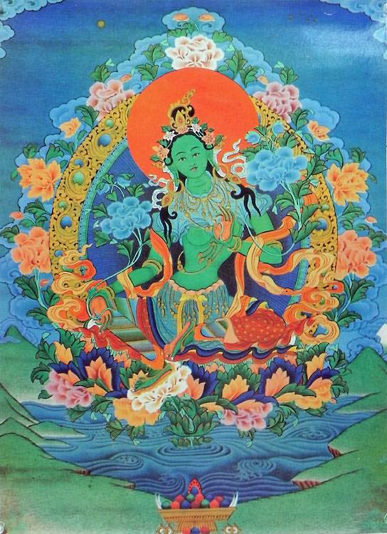 Green Tara Prayer Ceremony