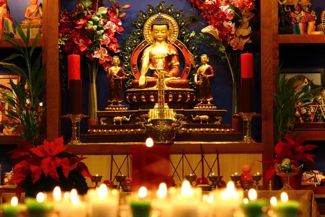 Shrine Room Alter