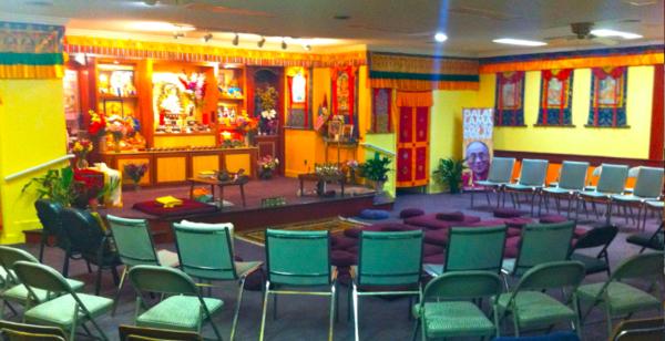 Shrine room at DGCEC